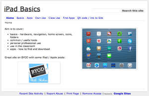 screenshot ipad basics
